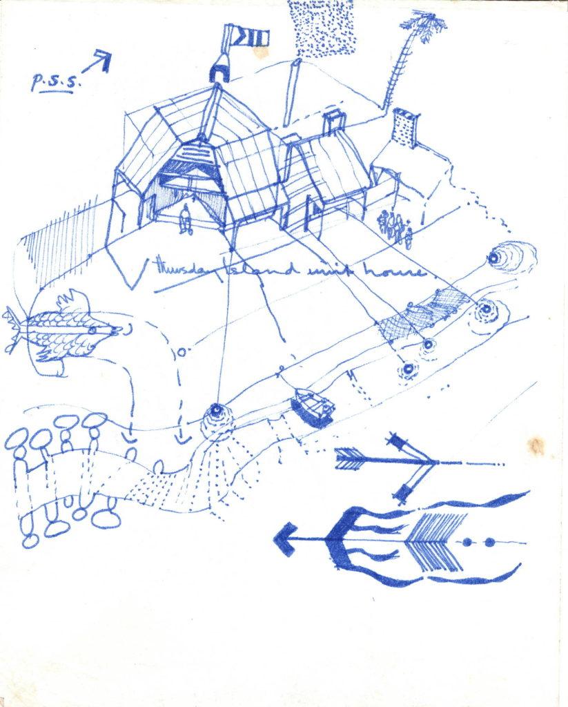 Felt pen sketch 1978