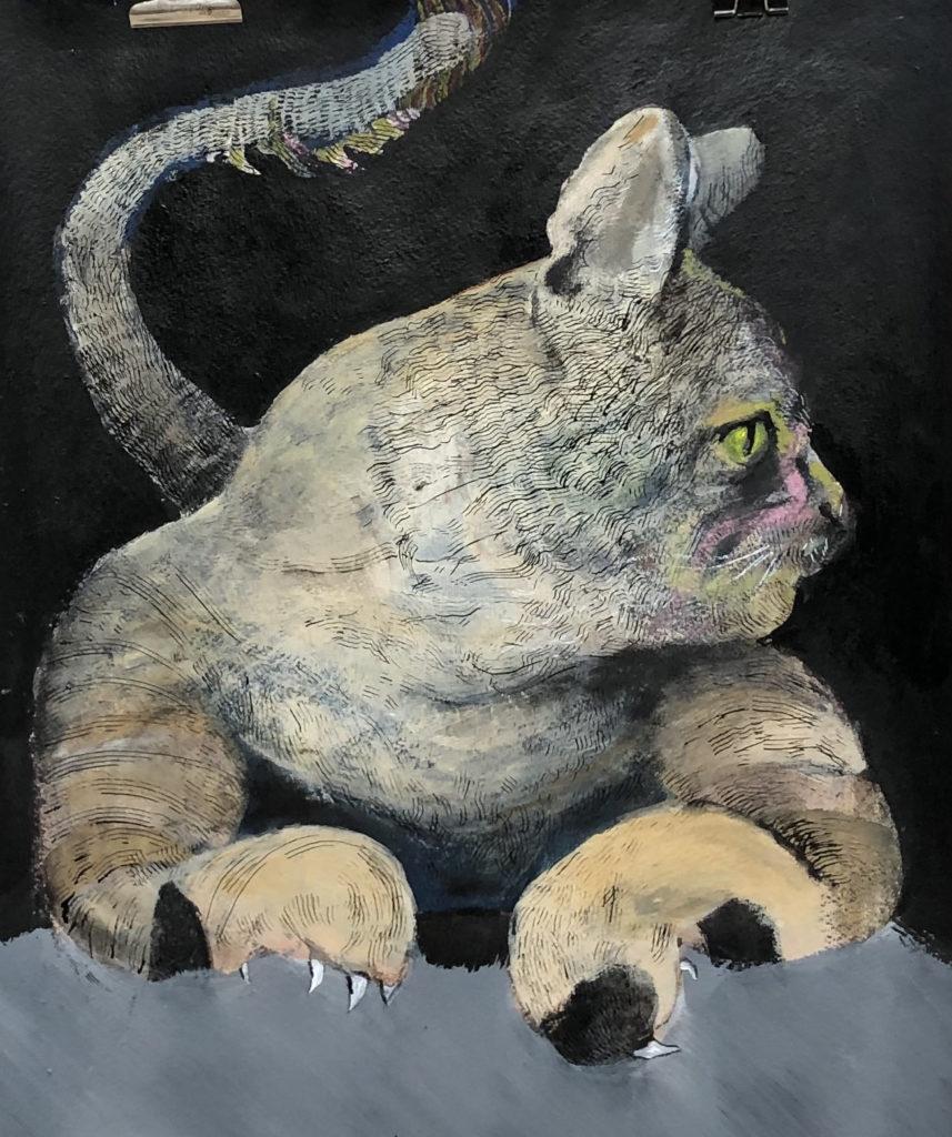 Painting Tom Cat